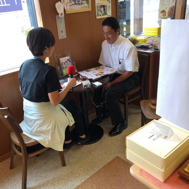 FMクマガヤの現地リポートにて熊谷店が紹介されました。(2020年8月3日放送) イメージ